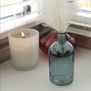 Deep Blue Small Propagation Glass Vase